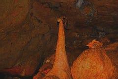 Пещера в Крыме Стоковые Изображения
