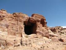 Пещера в утесе, руины Стоковые Фотографии RF