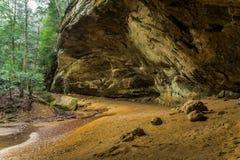 Пещера золы Стоковая Фотография