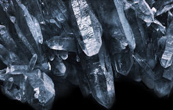 Пещера кварца стоковое фото