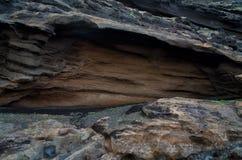 Пещера Лансароте Испания камня лавы Стоковые Изображения