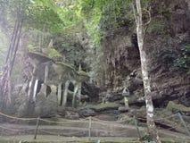 Пещера Макассар Goa Bantimurung стоковое изображение