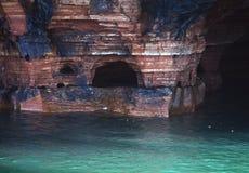 Пещера моря Стоковое Изображение RF