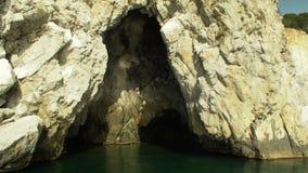 Пещера моря Pushkin внутрь видеоматериал