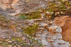 Пещера на национальном парке Guvrin пари E стоковое фото rf