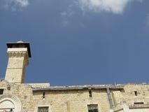Пещера патриарх в Хевроне, Израиле Стоковые Фото