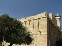 Пещера патриарх в Хевроне, Израиле Стоковое Фото