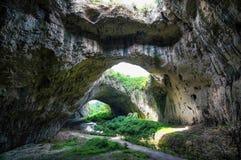 Пещера потолка обрушилась Стоковое фото RF