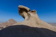 Пещера принца ahmed в городке reweda в Саудовской Аравии Стоковая Фотография