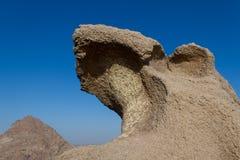 Пещера принца ahmed в городке reweda в Саудовской Аравии Стоковые Фото