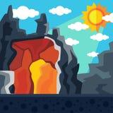Пещера дракона Стоковые Фото