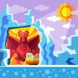 Пещера дракона Стоковые Фотографии RF