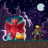 Пещера дракона Стоковая Фотография