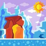 Пещера дракона Стоковое Фото