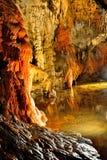 Пещера свободы Demanovska Стоковое Изображение RF