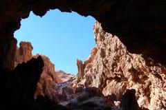Пещера луны Ла Valle de стоковая фотография rf
