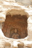 Пещера утеса Yungang китайца Стоковые Фото