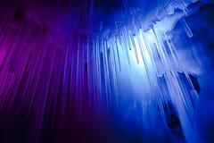 Пещера льда тысячелетия стоковое изображение rf