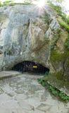 Пещера Bacha Kiro около монастыря Dryanovo, Болгарии Стоковое Изображение RF