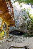 Пещера Bacha Kiro около монастыря Dryanovo в Болгарии Стоковое Фото