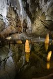 Пещера Belianska в высоком Tatras, Словакии стоковые фотографии rf
