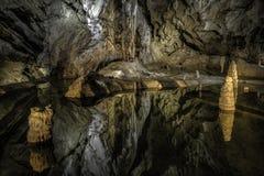 Пещера Belianska в высоком Tatras, Словакии стоковые изображения rf