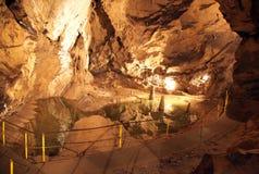 Пещера Belianska, Словакия стоковые изображения rf