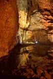 Пещера Corbeddu в Сардинии стоковое фото rf