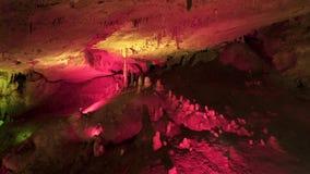 Пещера Karst в западной Грузии сток-видео