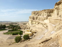 Пещера Kharbas на острове Qeshm, Иране Стоковое Изображение