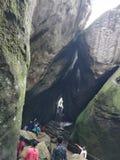 Пещера Kuruva стоковое фото