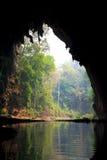 Пещера Lod в провинции Maehongson стоковая фотография rf