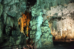 Пещера Melidoni, Крита Стоковые Изображения RF