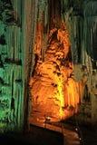 Пещера Melidoni, Крита стоковые фотографии rf