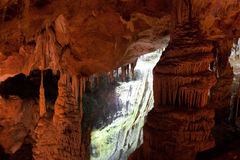 Пещера Mencilis в Турции Стоковое Изображение