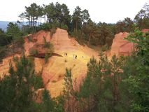 Пещера Ocra Стоковое фото RF