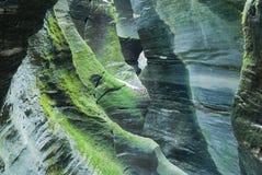 Пещера Orridi di Uriezzo в Piemonte Стоковое Фото