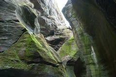 Пещера Orridi di Uriezzo Стоковое Изображение