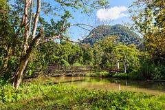 Пещера Pla Tham Стоковое Фото