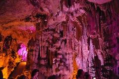 Пещера Psychro Крит Греция Стоковое Фото