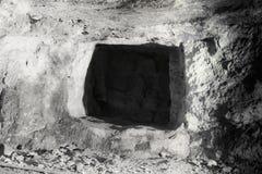 Пещера Zedekiah карьеры короля Solomon Стоковое фото RF