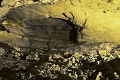 Пещера Zedekiah карьеры короля Solomon Стоковое Изображение RF