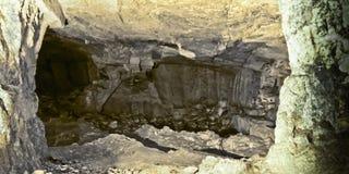 Пещера Zedekiah карьеры короля Solomon Стоковая Фотография