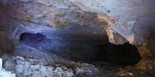 Пещера Zedekiah карьеры короля Solomon Стоковая Фотография RF