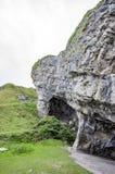 Пещеры, большое Orme, Llandudno, Уэльс Стоковое Фото