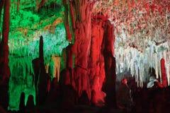 Пещеры ветчин Мальорка, Испания Стоковые Изображения