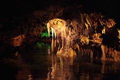 Пещеры ветчин Мальорка, Испания Стоковая Фотография RF