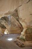 Пещеры мела, Израиль Стоковая Фотография RF