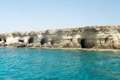 Пещеры моря Ayia Napa Стоковая Фотография RF