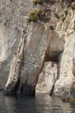 пещеры на Закинфе Стоковые Изображения